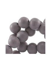 50 pcs Grey 6mm