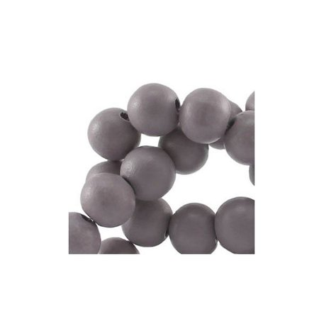 40 pcs Grey 6mm
