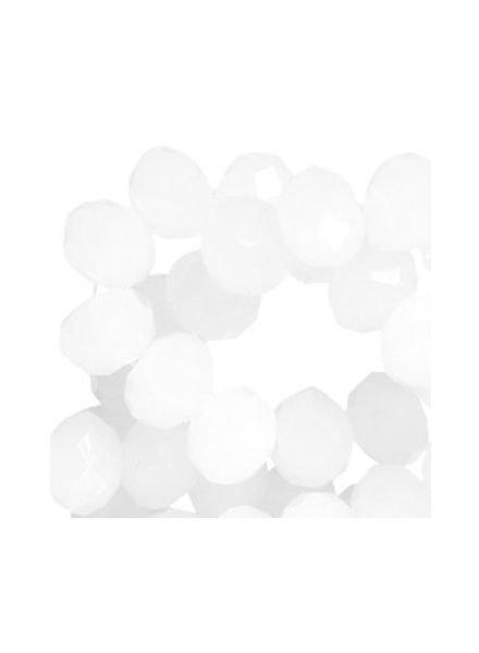 10 pcs White 8x6mm