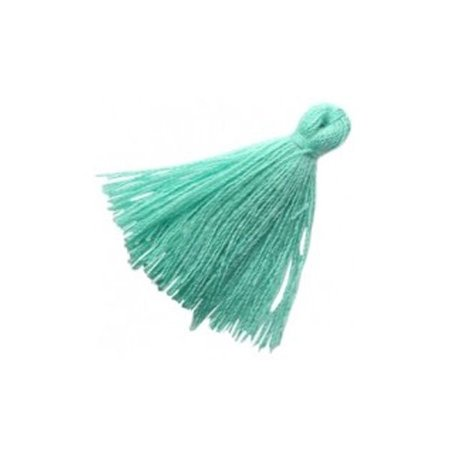 Tassel Turquoise 30mm, 5 pieces