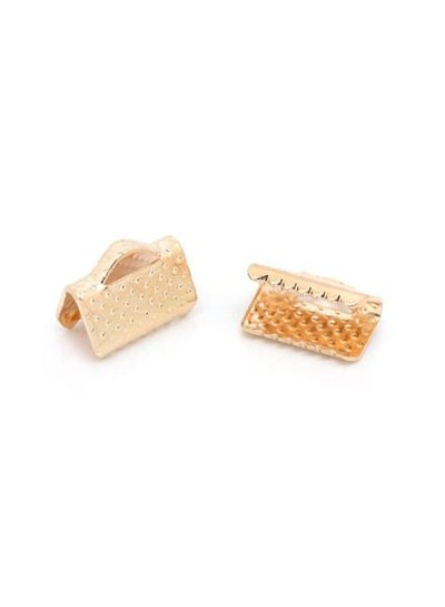 Lace Chuck Rose Gold 10mm, 20 pieces