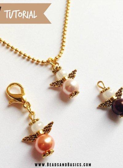 Spacer Beads Goud 4mm Nikkelvrij, 25 stuks