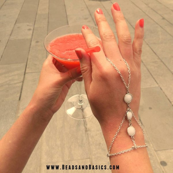 DIY Hand Jewellery From Chain