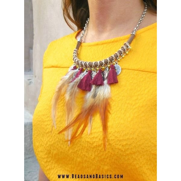 Boho Festival Necklace