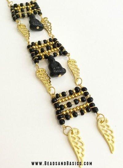 Golden Buddha Necklace