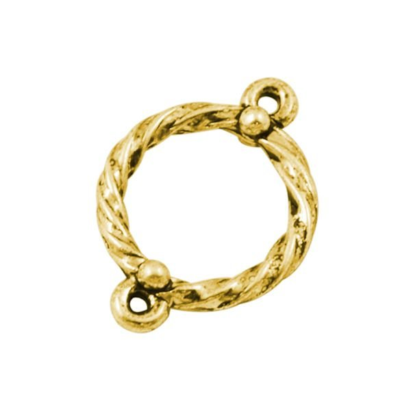 Link Gold 16mm, 5 pieces