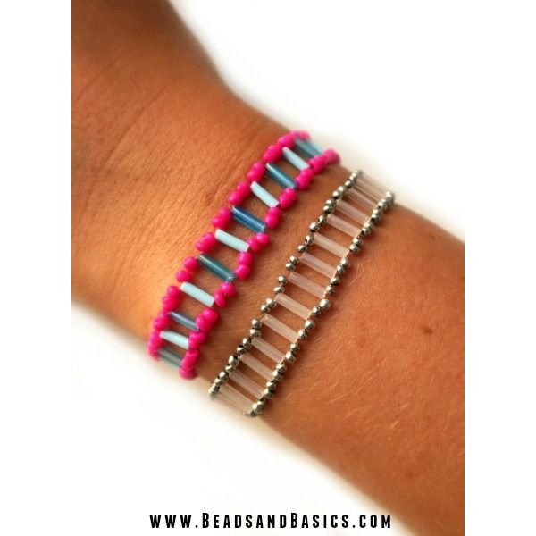 Bracelet with Ladder Technique