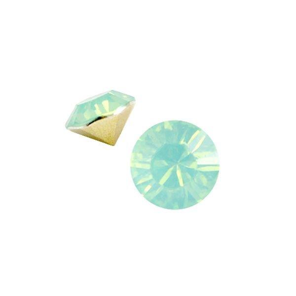 Stone Point Mint Green Opal SS29 6.2mm