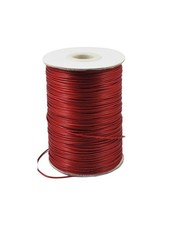 Waxcord Red 1mm, 3 meter