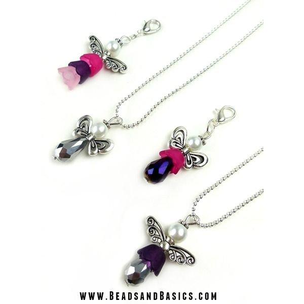Drop Beads Purple Metallic 12x6mm
