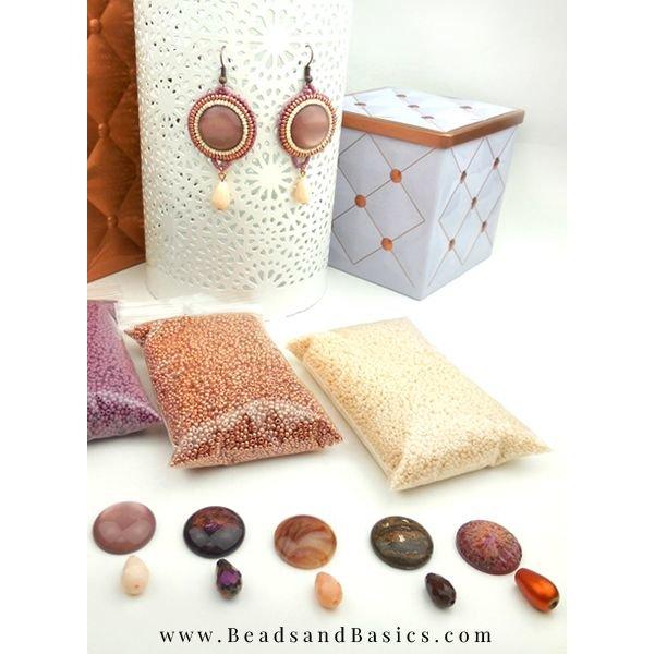 Oorbellen Maken Van Miyuki Kralen - Bead Embroidery