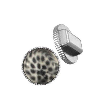 DQ Schuiver Zilver voor Cabochon 20mm