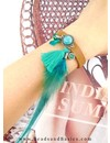 DQ Leather Bracelet Boho Style