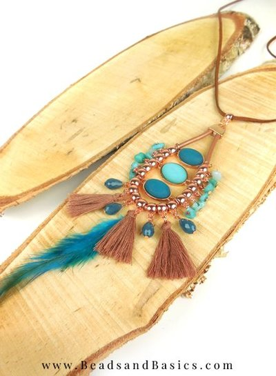 Boho Statement Necklace Making
