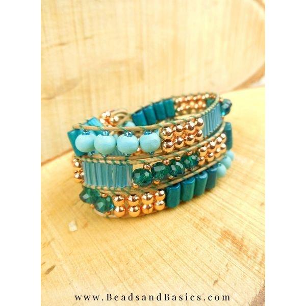 25 pcs Faceted Bead Aqua Blue 6x4mm