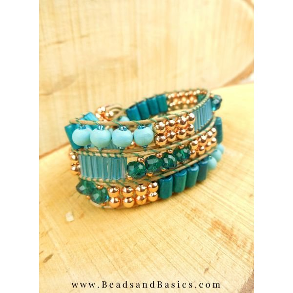 Wooden Beads Blue 6mm, 40 pieces