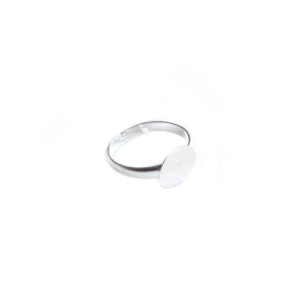Adjustable Ring Silver 20mm