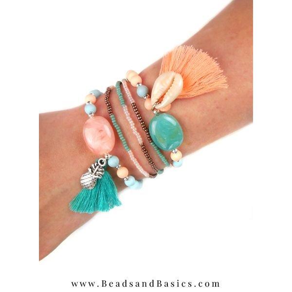 Armbandjes Setje Met Ananas Bedel