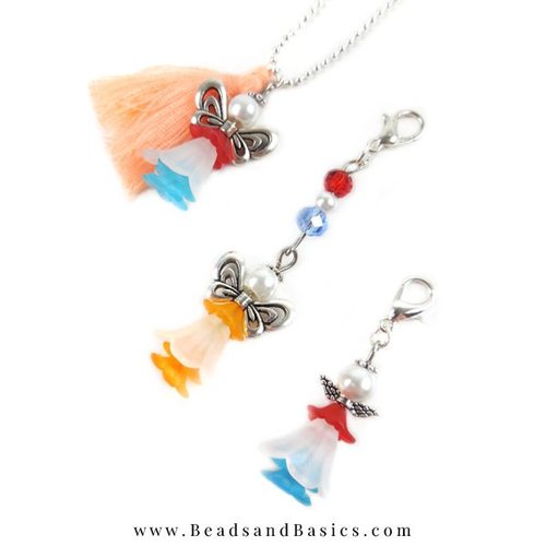 King's Luck Angels Of Beads - Chain And Pendant