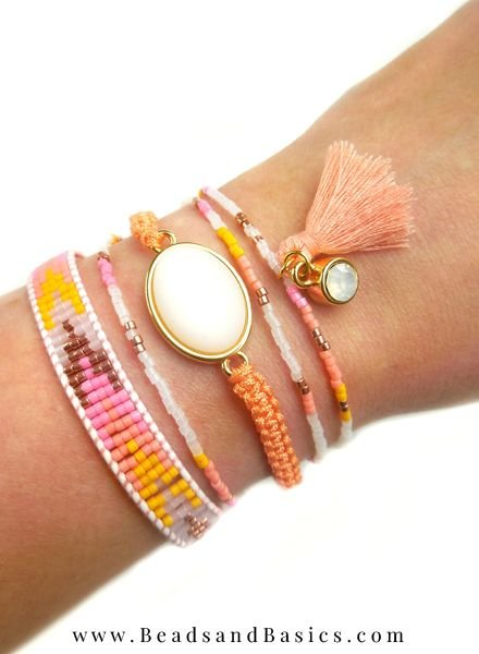Zomerse Ibiza Style Armbandjes Zelf Maken Met Miyuki Kralen - DIY