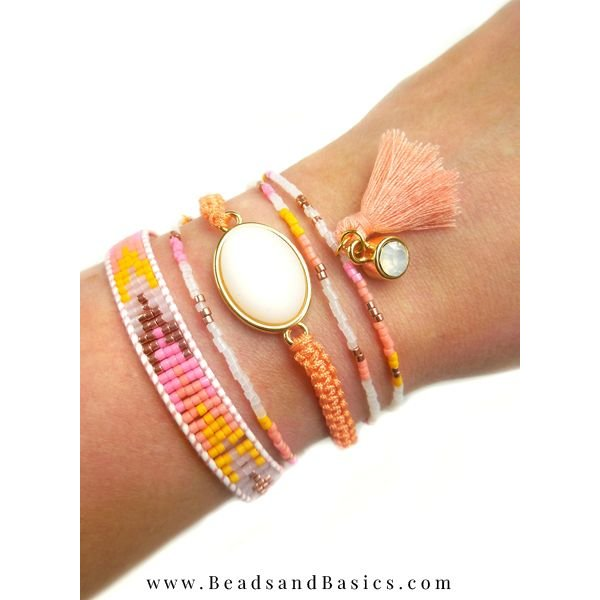 Summer Ibiza Style Bracelets Make Your Own With Miyuki Beads