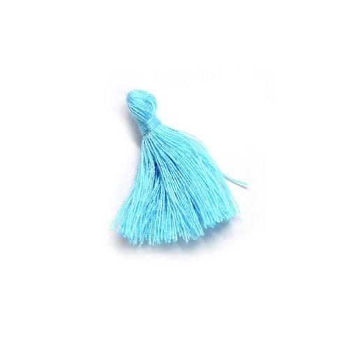 Kwastje Aqua Blauw 30mm