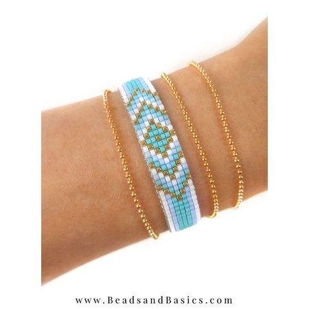 How to Make a Miyuki Beadloom Bracelet