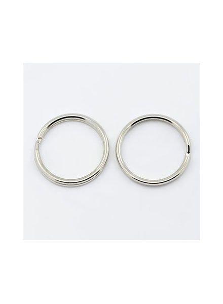 Keychain Ring Silver 20x2mm