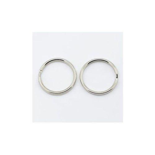 Sleutelhanger Ring Zilver 20mm