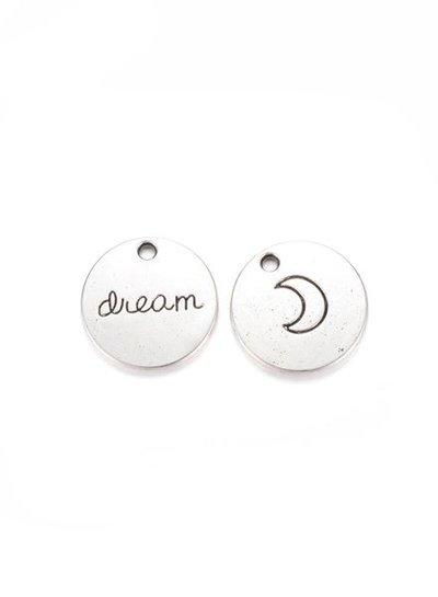 Maan Bedel Dream Zilver 20mm
