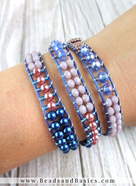 Zelf een wrap armband maken beads basics for Zelf een tuintafel maken