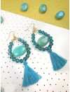 Tassel Turquoise 30mm