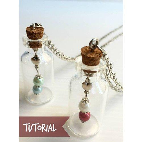 Glass bottle - Wish bottle making