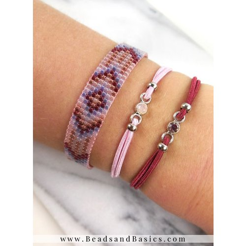 How to Make A Miyuki Bracelet With Delica Beads