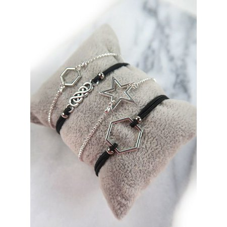 Minimalistic Bracelets Set