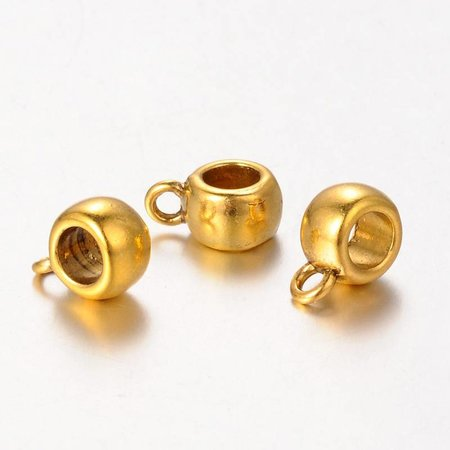 Bailbead Golden fits 4.5mm, 8 pieces