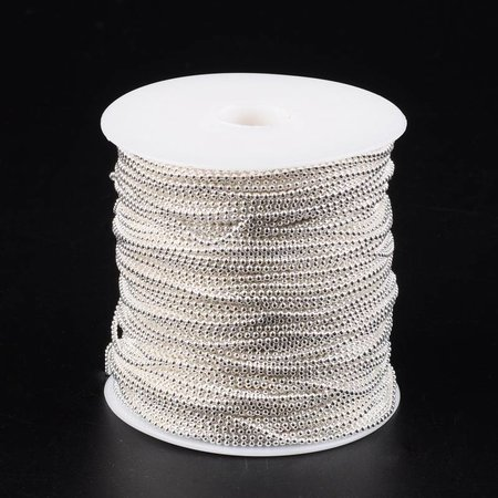 Ball Chain Silver 2mm, per meter