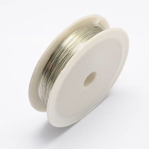 20 m Wire for Jewellery Silver 0.3mm