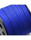 1 meter Lace-Cobalt Blue Suede 3mm