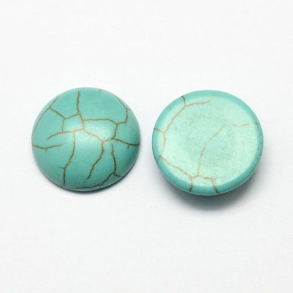Turquoise cabochon 10mm
