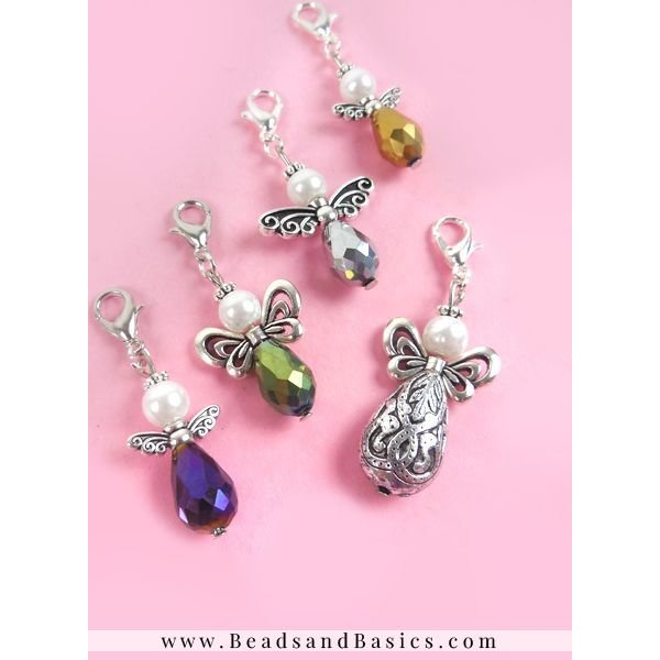 Angel of beads