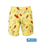 Terry Rich Australia Board Short (Father-Son) Crab In Yellow