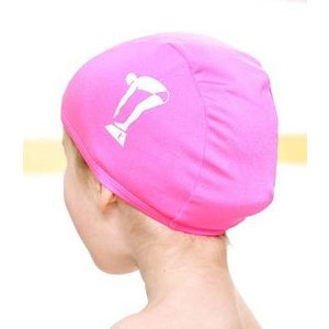 Terry Rich Australia Pink Swim Cap for kids
