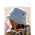 Terry Rich Australia Zonnehoedje lichtblauw & wit