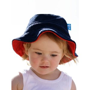 Terry Rich Australia Terry Hat Navy & red