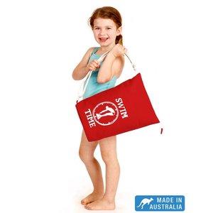 Terry Rich Australia Rode Canvas zwemtas voor kids