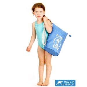 Terry Rich Australia Azure Blauwe canvas zwemtas voor kids