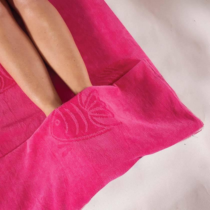 Itsa Beach Towel Pink Destination