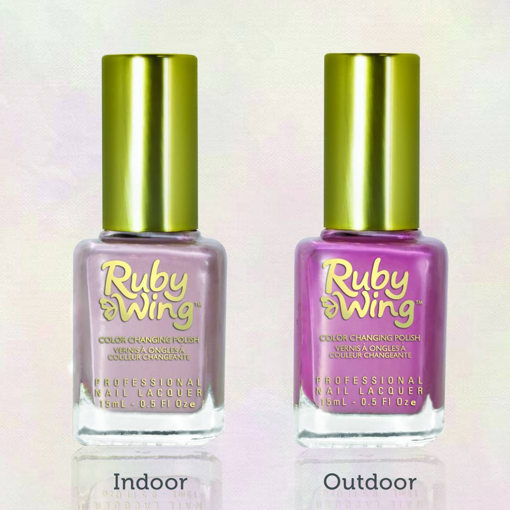Ruby Nail Polish: Ruby Wing Color Changing Nail Polish 'Myth'