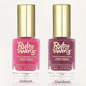 Ruby Wing Color Changing Nail Polish 'Poppy'